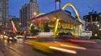 A McDonald's restaurant in Chicago