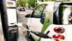 Electric car charging points 'not being used'