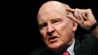 American business executive, author and chemical engineer Jack Welch.