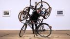 Four Bicycles (there is always one direction) by Mexican Artist Gabriel Orozco