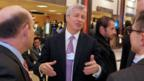 CEOs, like Jamie Dimon of JP Morgan Chase, attend Davos. (Eric Piermont/AFP/Getty Images)