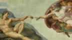 The roof of the Sistine Chapel
