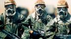 Men in gas masks (Thinkstock)