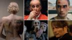 Montage of stills from films nominated for best foreign language picture Oscar