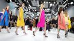 Bright stuff: Bold palette at Christian Dior (Getty Images)