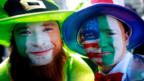 Irish expatriates at the New York City annual St. Patrick's Day parade (Getty)
