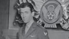 Jimmy Stewart was one of several Hollywood stars who signed up for active duty (Corbis)