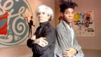 Andy Warhol and Jean-Michel Basquiat in 1985 (AP Photo/Richard Drew)