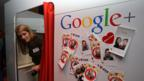 Google's creative culture: an in-office photo booth in Berlin. (Adam Berry/Getty Images)