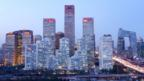 Skyline of Beijing's central business district. (Wang Zhao/AFP/Getty Images)