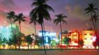 Ocean Drive in Miami's Art Deco South Beach draws diners at dusk. (Brian Lawrence)