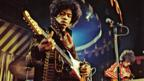 The Jimi Hendrix Experience in 1967 (Marc Sharrat/REX)