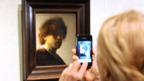 Rembrandt's Self-Portrait as a Young Man, 1628-29 (Stan Honda/AFP/Getty Images)