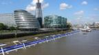An artist's rendering of London's Thames Deckway