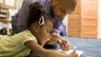 In the US, a third of children live in single-parent households. (David Sacks/Thinkstock)