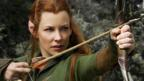 Evangeline Lilly in The Hobbit: The Battle of the Five Armies (Warner Bros)