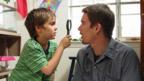 Ellar Coltrane and Ethan Hawke in Boyhood (IFC Films)