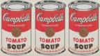 Warhol's Campbell's Soup Cans (detail)