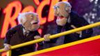 Muppet Theater critics, Statler and Waldorf love to give a bad review.  (Credit: Alamy)