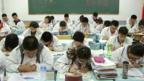 Students studying for the Gaokao in Harbin, China