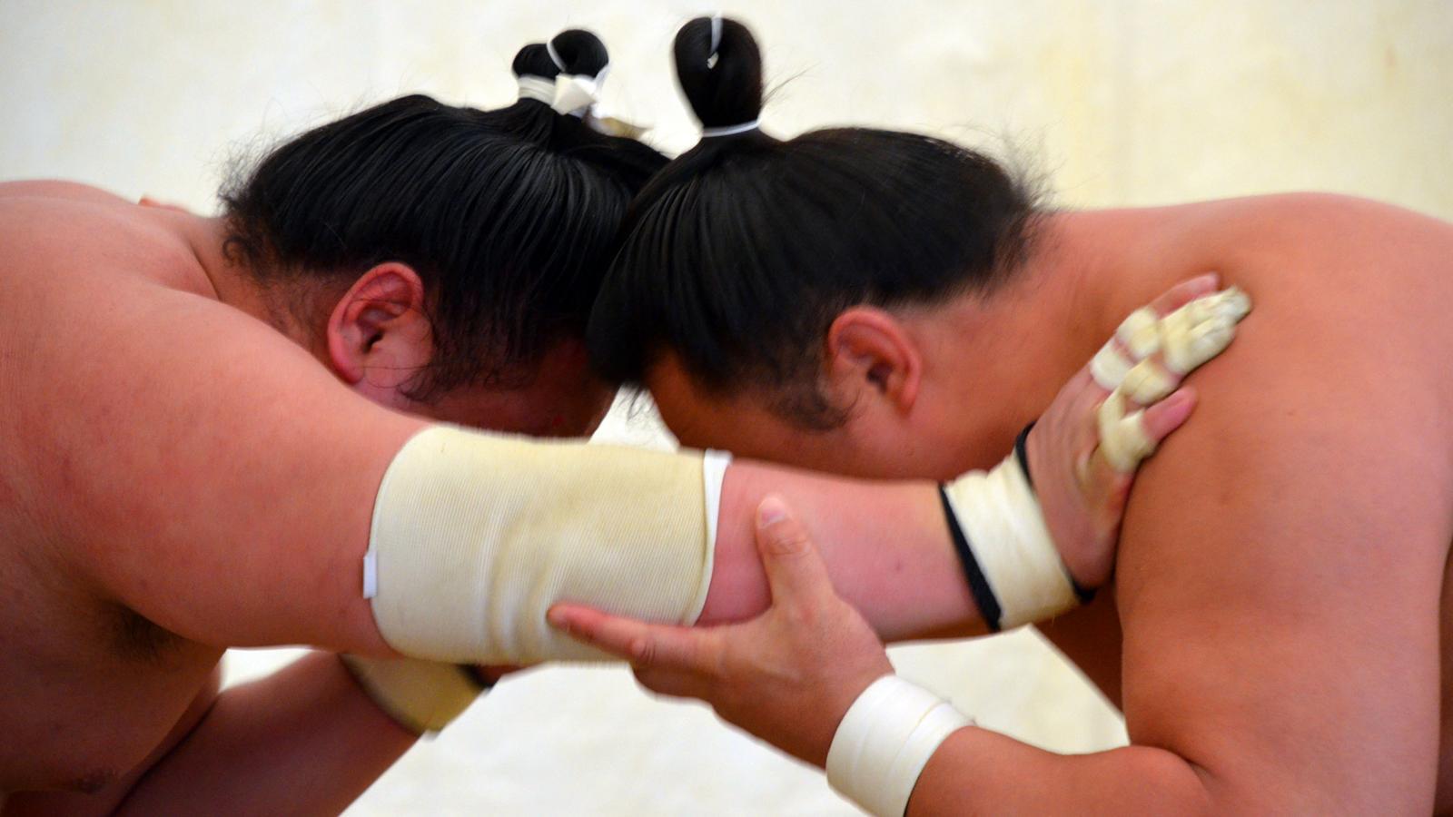 Жизнь сумоиста (фото-история)