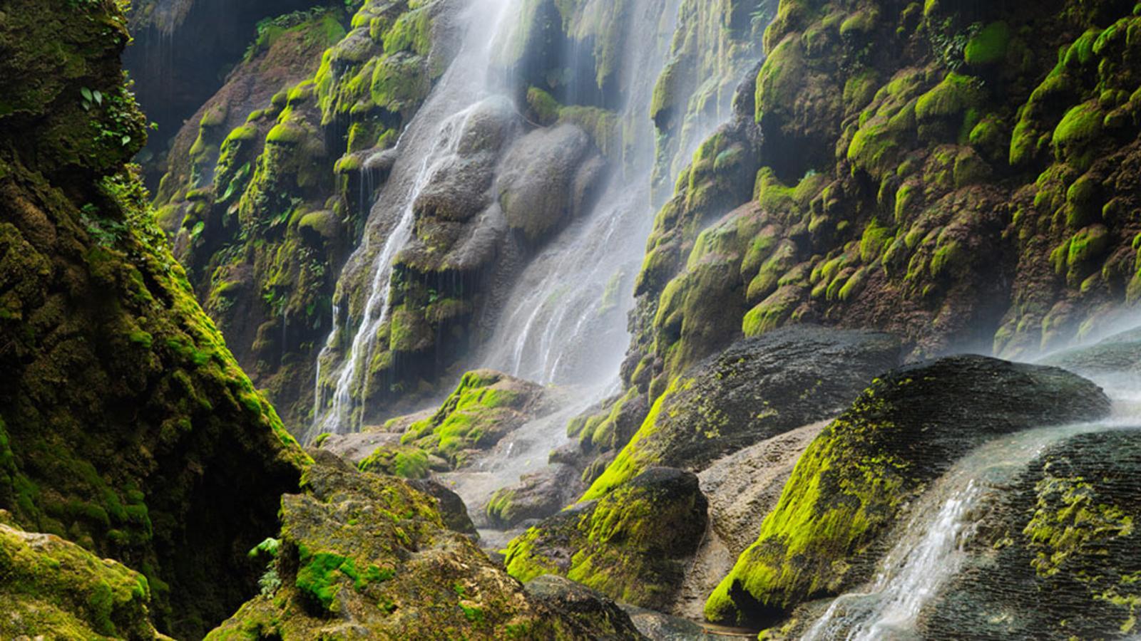 Wodospad Aguacero, Chiapas, Meksyk - fot. Floris van Breugel