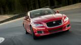 The carmaker's 550hp XJR flagship sedan may be a late arrival, but it's certainly no wallflower.