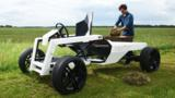 Silent and strong, this futuristic electric work vehicle aims to put Old Nellie out to pasture.
