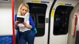 Every day millions of commuters escape the reality of the rush-hour by losing themselves in a book.  BBC Culture goes underground to discuss reading on the go.