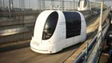 The London airport's fleet of self-driving people-movers may help define personal mobility in the city of tomorrow.