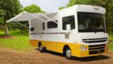The US-based RV maker mines its history with a nostalgia-packed motorhome.