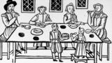 During the Puritans' rule of England, celebrating on 25 December was forbidden. Singing yuletide songs then was a political act, Clemency Burton-Hill writes.