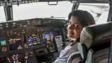 'Anything you set your mind to do, you just do it.' How a female pilot in India built a career — and still never missed a parent-teacher meeting.