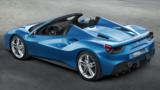 The 661-horsepower droptop will blast from zero to 60mph in three seconds flat and press on to 203mph.