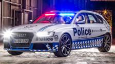 NSW Police Force Audi RS4