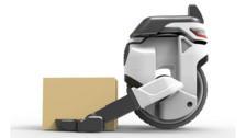 Transwheel autonomous delivery scooter