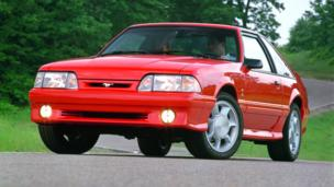 "THE ALTERNATIVE: SVT Cobra is among the most coveted ""fox body"" Mustangs. (Ford Motor)"