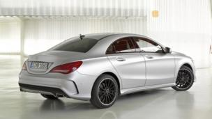 Mercedes-Benz CLA250. (Mercedes-Benz USA)