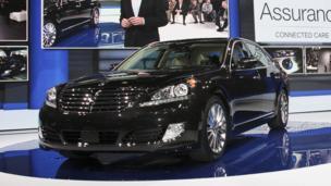 2014 Hyundai Equus. (Hyundai Motor America)