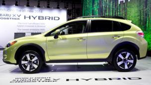 2014 Subaru XV Crosstrek Hybrid. (Subaru of America)