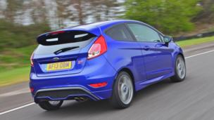 Demand in the UK for the Ford Fiesta ST, above, has far outstripped supply. (Ford Motor)