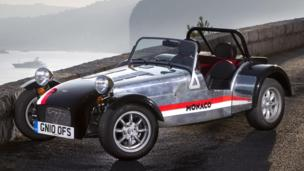 Caterham's current value-leader, the £19,995 Roadsport 125 (Caterham Cars, via Newspress)