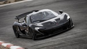 McLaren P1 hot-weather testing