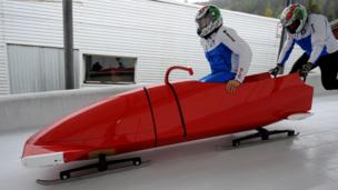 Ferrari builds a bobsled
