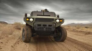 TARDEC Ultra Light Vehicle prototype