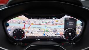 Audi maps uncharted territory