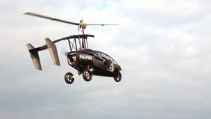 Flying car: Clear for take-off?