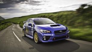 Mark Higgins' 2015 Subaru WRX STI