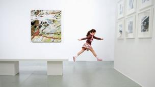 Should kids run wild in museums?