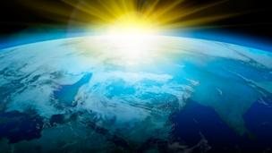 Earth and Sun (credit: John Kellerman / Alamy)